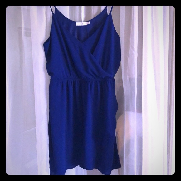 Lush Dresses & Skirts - Lush Royal Blue Sleeveless Dress